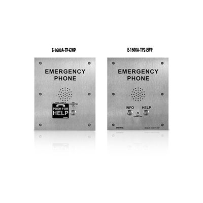ADA Compliant Emergency Phone for Talk-A-Phone applications