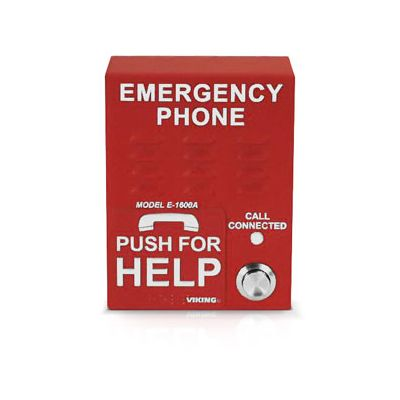 ADA Compliant Emergency Phone with Enhanced Weather Protection