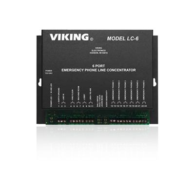 Viking LC-6 6 Port Line Concentrator for Emergency Phones