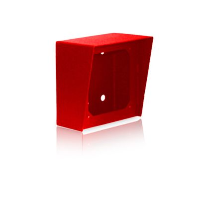 Viking VE-5X5-RD 5x5 Surface Mount Box in Red Powder Painted Steel Finish