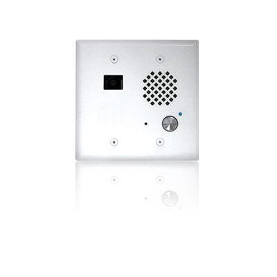 Viking E-60-WH-IP VoIP Entry Phone Mount in a Standard Double Gang Box (White)