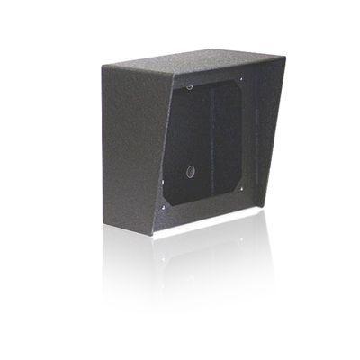 5x5 Surface Mount Box in Black Powder Painted Steel Finish