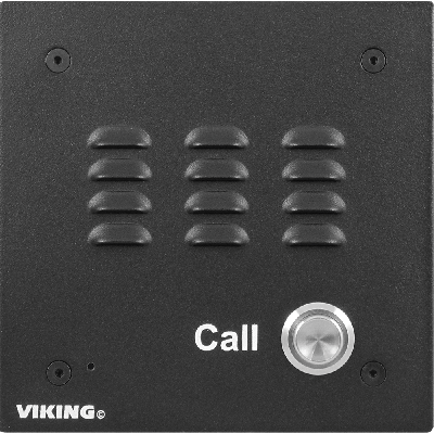 Viking E-10A-EWP Vandal Resistant Flush Mount Speakerphone with Enhanced Weather Protection