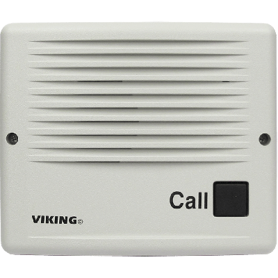 Viking E-20B-EWP Line Powered Surface Mount Handsfree Entry Phone with Enhanced Weather Protection