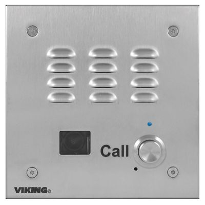 Viking E-35-IP-EWP ADA Compliant VoIP Emergency Door Entry Phone with Built-In Dialer and Digital Voice Announcer
