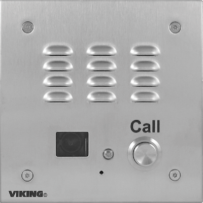 Viking E-35-EWP Handsfree Speakerphone with Enhanced Weather Protection, Video Camera, and Auto Dialer