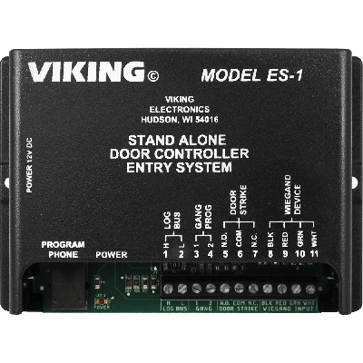 Viking ES-1 Add Keyless Entry and/or Card Reader Entry for a Single Door with Up to 250 Users