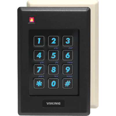 Viking PRX-2 Proximity Card Reader with Built-in Keypad