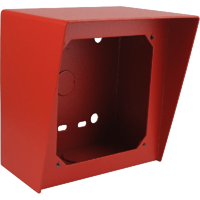 Viking VE-5X5-RD Surface Mount Box in Red Powder Painted Steel Finish