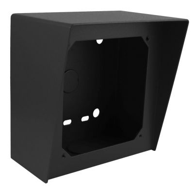 Viking VE-5X5 5x5 Surface Mount Box in Black Powder Painted Steel Finish