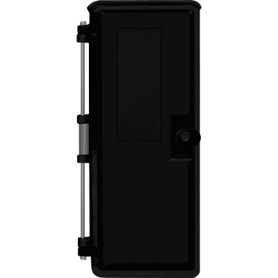 Viking VE-9X20B-0 9x20 Black Weather-Proof Enclosure with optional Telephone label Without Mounting Panel