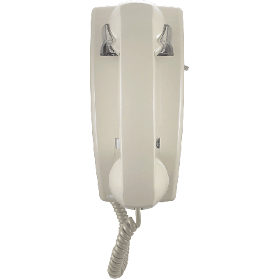 Viking K-1500P-W-ASH No Dial Wall Phone