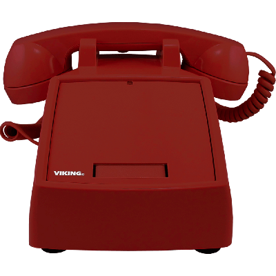 Viking K-1900D-2 Red Hot Line Desk Phone - IT Programmable
