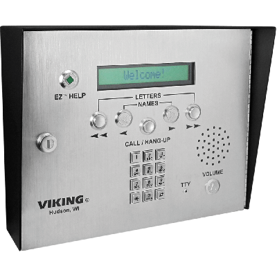 Viking AES-2000S ADA Compliant Apartment Access Control Entry System