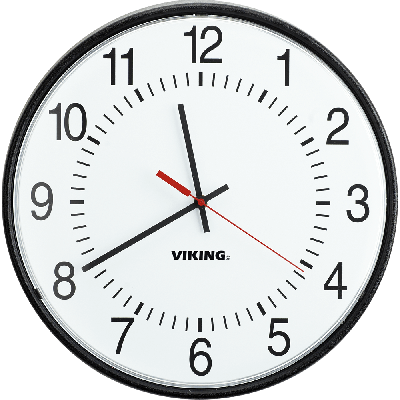 Viking CL-A12 CL Series Wireless Analog Clock