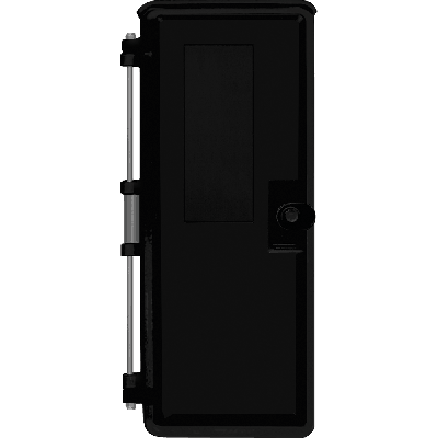 "Viking VE-9X20B-0 9x20 Black Weather-Proof Enclosure with optional ""Telephone"" label Without Mounting Panel"